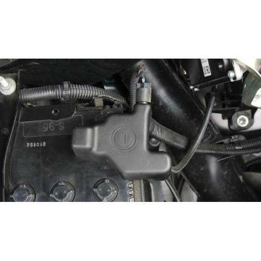 AL 適用: トヨタ RAV4 RAV 4 2016 2017 正極・負極 バッテリー 電極 防水 防塵 保護 カバー ブラック AL-EE-7399