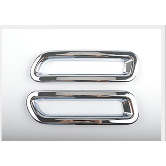 AL 適用: スズキ ビターラ 2016-2018 2ピース クローム ABS フロント フォグランプ フレーム 装飾 カバー トリム リア AL-EE-7418