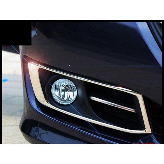 AL 適用: ホンダ オデッセイ 2015-2018 2ピース ステンレス スチール フロント フォグランプ フレーム 装飾 カバー トリム スタイル 2 AL-EE-7521