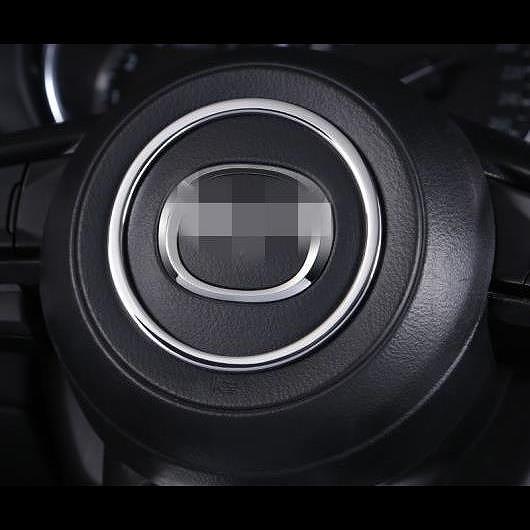 AL 適用: マツダ 2th CX-5 CX5 CX 5 2017 2018 装飾 サークル スパンコール ブライト インテリア ステッカー 1ピース シルバー AL-EE-7554
