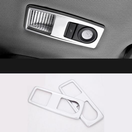 AL ハイ リア リード ライト 装飾 フレーム 2ピース インテリア アクセサリー 適用: BMW X1 F48 2016-2018 2ピース AL-EE-7649