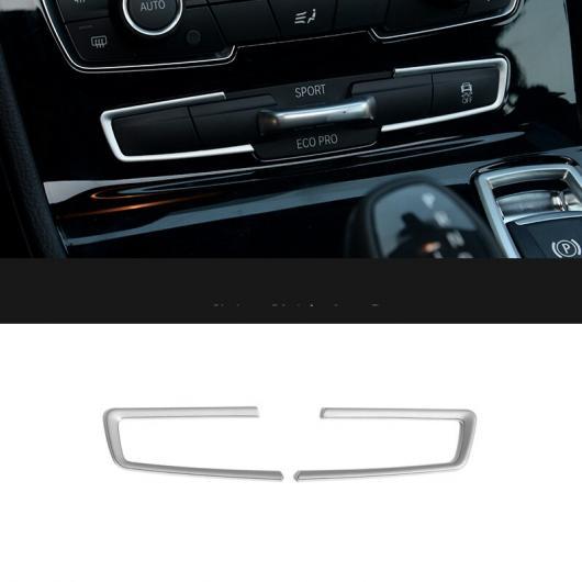 AL トリム ストリップ マルチファンクション モード ボタン パネル 装飾 適用: BMW 2シリーズ F22 F23 M2 F87 220I 228I 230I M235I 2ピース AL-EE-7714
