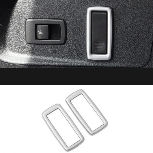 AL スタイリング リア トランク フック フレーム 装飾 カバー トリム インテリア 適用: BMW 2シリーズ F22 F23 M2 F87 220I 228I 230I M235I 2ピース AL-EE-7797