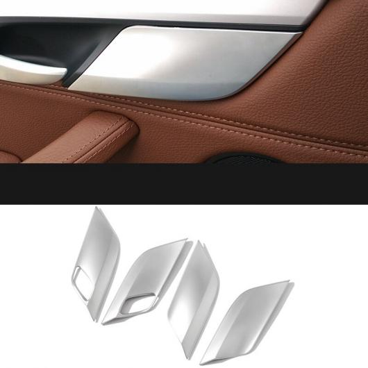 AL セキュリティ ロック 装飾 ペースト スパンコール パネル フレーム パッチ アクセサリー 適用: BMW X5 E70 X6 E71 4ピース AL-EE-7822