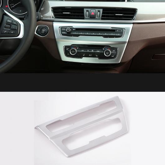 AL セントラル コントロール パネル エアコン アジャスター ノブ 装飾 インテリア 適用: BMW X1 F48 2016-2018 1ピース AL-EE-7829