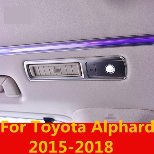 AL 適用: トヨタ アルファード 2015-2018 ルーフ 吹き出し口 カバー トリム ステッカー スチーム プレート エア インテリア 装飾 AL-EE-6966