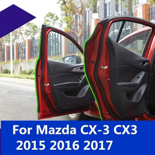 AL 適用: マツダ CX-3 CX3 2015-2018 ラバー シール サウンド 絶縁 ウェザーストリップ エッジ トリム ノイズ ドア シーリング ストリップ AL-EE-7256