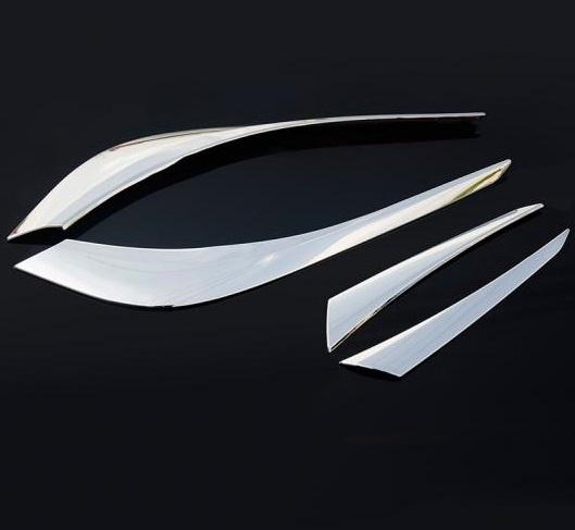 AL 適用: マツダ CX-5 CX5 CX 5 2017 2018 2019 リア フォグライト ステッカー テール フォグ ランプ フレーム クローム 装飾 AL-EE-7271