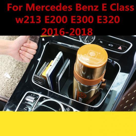 AL 適用: メルセデス ベンツ E クラス W213 E200 E300 E320 2016-18 シフト ノブ コントロール パネル カバー トリム カップ フレーム ホルダー AL-EE-7280