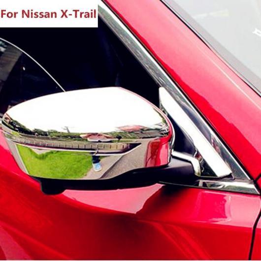 AL 適用: 日産 ローグ エクストレイル 2014 2015 2016 ABS クローム サイド バックミラー ミラー カバー トリム 保護 装飾 ステッカー ベゼル AL-EE-7392