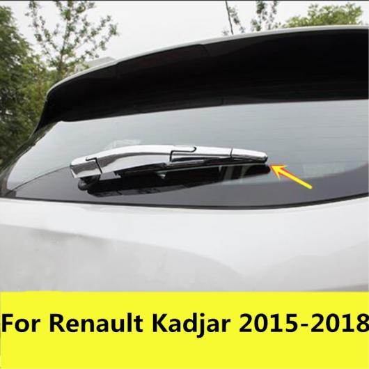 AL 適用: ルノー カジャー 2015-2018 ABS クローム リア ウインドスクリーン ワイパー スパンコール エクステリア 装飾 アクセサリー 4ピース AL-EE-7564
