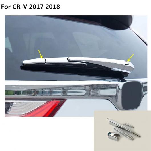 AL ディテクター トリム アクセサリー リア ガラス ワイパー ノズル フレーム テール ウインドウ 4ピース 適用: ホンダ CRV CR-V 2017 2018 AL-EE-7643