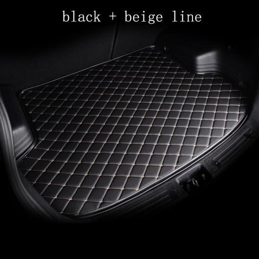 AL カーゴ ライナー 適用: アウディ 全モデル A6L R8 Q3 Q5 Q7 S4 RS TT クアトロ A7 A8 A3 A4 A5 ブーツ マット トランク マット フロア カーペット ブラック ホワイトライン~パープル ベージュライン AL-EE-8172