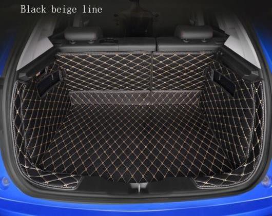 AL 全周囲 適用: キャデラック 全モデル XTS SRX XT5 CT6 ATSL ブーツ マット トランク マット フロア カーペット ブラック ホワイトライン~ブラウン ゴールド糸 AL-EE-8286