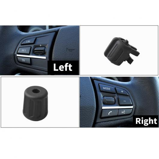 AL LHD RHD マルチファンクション ステアリング ホイール 左 右 ボタン キー コントロール ノブ 適用: BMW 5/7シリーズ F10 F11 520 523 525 F01 F02 730 左 右 サイド AL-EE-8828