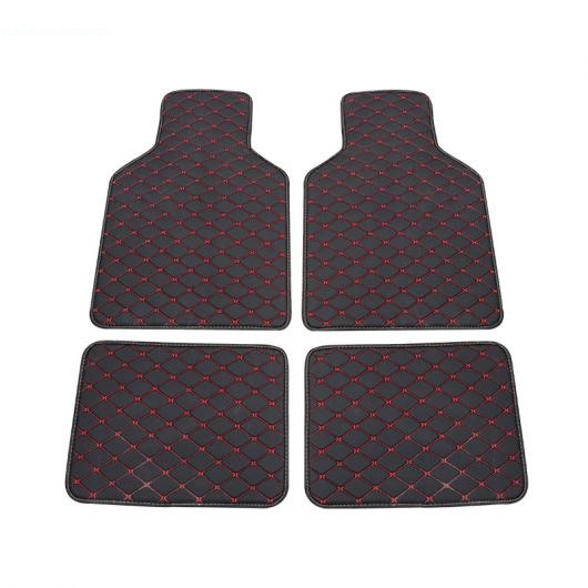 AL ユニバーサル フロアマット 適用: アウディ 全モデル A1 A3 A8 A7 Q3 Q5 Q7 A4 A5 A6 S3 S5 S6 S7 S8 R8 TT SQ5 SR4-7 ブラック レッド~コーヒー AL-FF-0258