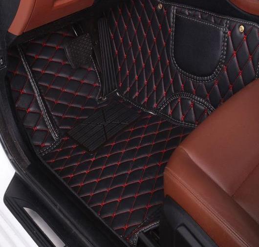 AL フロアマット 適用: マツダ 全モデル マツダ 3 アクセラ 2 5 6 8 アテンザ CX-4 CX-7 CX-9 CX-3 MX-5 CX-5 マット ブラック レッド 1 ピース~ワイン レッド 1ピース AL-FF-0351