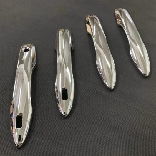 AL 適用: 2019 トヨタ カローラ E210 スポーツ ハッチ ハッチバック オーリス ABS クローム ドア ハンドル ボウル カバー カップ トリム キャッチ モールディング ドア ハンドル AL-FF-0727