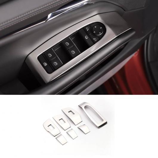 AL インテリア ドア コントロール パネル ベゼル ガーニッシュ カバー 適用: MAZDA3 マツダ3 LHD 2019 2020 アクセサリー カースタイリング ブラック・シルバー AL-FF-2028