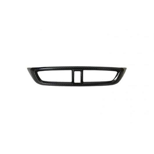 AL 適用: ホンダ CRV CR-V 2017 2018 カーボン フロント インテリア ミドル コンソール セントラル エアコン 吹き出し口 ベント カバー トリム ABS カーボン AL-FF-0959