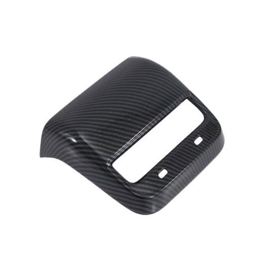 AL 適用: テスラ モデル 3 2018 2019 カーボンファイバー インテリア アームレスト リア エアコン 吹き出し口 カバー トリム AC ベント パネル ブラック AL-FF-2117