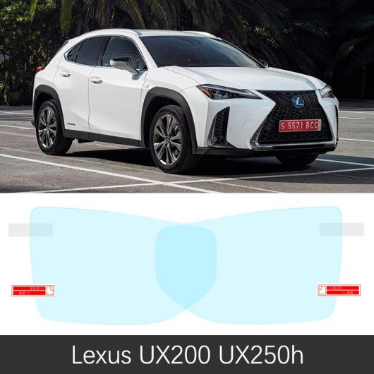 AL 適用: レクサス UX 200 250H UX200 UX250H 2019 2020 2021 フル カバー バックミラー ミラー 防曇 フィルム 防雨 アンチ フォグ レクサス UX200 UX250H AL-FF-2162