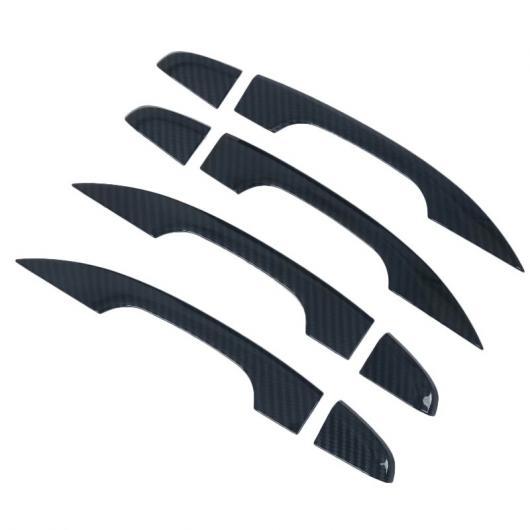 AL 適用: ホンダ アコード 2018 4ピース ドア ハンドル ボウル プロテクター ホール カバー トリム モールディング ABS クローム ホールなし AL-FF-1204