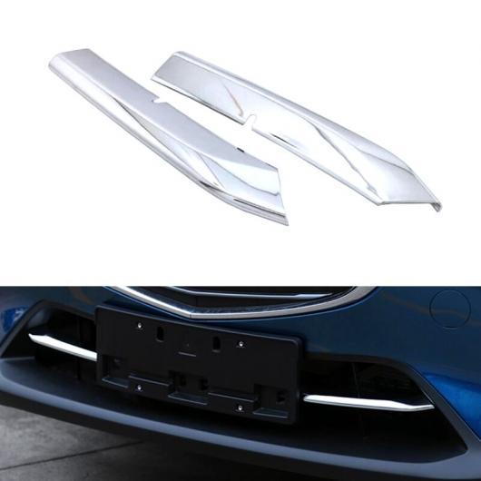 AL 適用: マツダ CX-3 CX3 2015 2016 2017 2018 エクステリア ABS クローム ボトム セントラル グリル トリム 2ピース AL-FF-1223