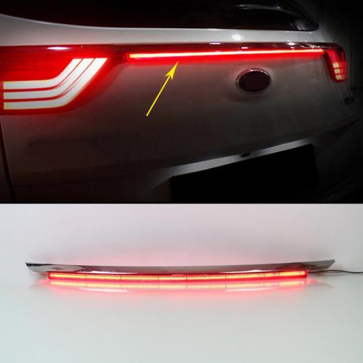 送料無料! AL 1ピース テール ライト 適用: 起亜 KX5 2016 2017 LED DRL リア バンパー ドライビング ブレーキ ハイ シグナル ランプ 2ファンクション AL-FF-1282