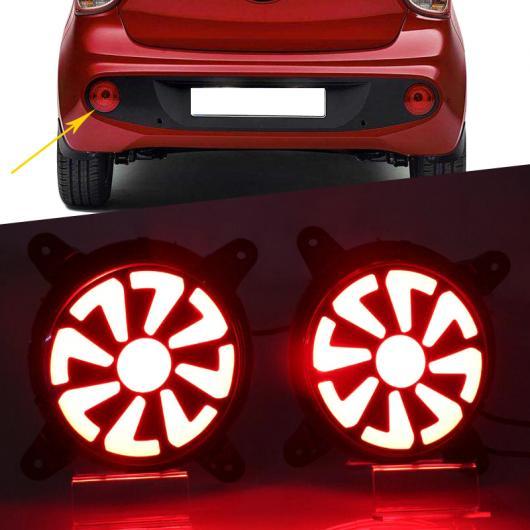 AL 2ピース 適用: ヒュンダイ I10 2017 2018 LED DRL リア バンパー テール ライト フォグランプ ブレーキ リフレクター ワーニング タイプ001~タイプ003 AL-FF-1301