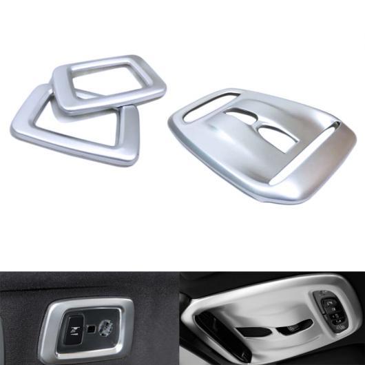 AL ABS カーボンファイバー インテリア フロント & リア リード ライト カバー トリム 適用: ボルボ XC60 XC 60 2018/XC90 15-18 タイプ003 AL-FF-1601