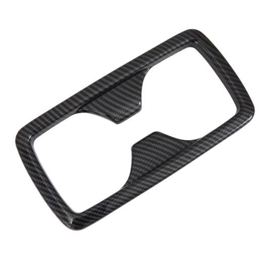 AL バック コンソール ドリンクホルダー カバー トリム カーボン スタイル 1ピース 適用: トヨタ RAV4 XA50 2019 2020 リア ベント カバー~ギア シフト カバー AL-FF-1538