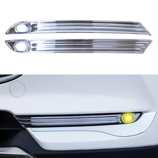 AL ABS クローム フロント フォグライト ランプ カバー モールディング 適用: マツダ CX5 CX-5 2017 2018 2ND 世代 AL-FF-1650