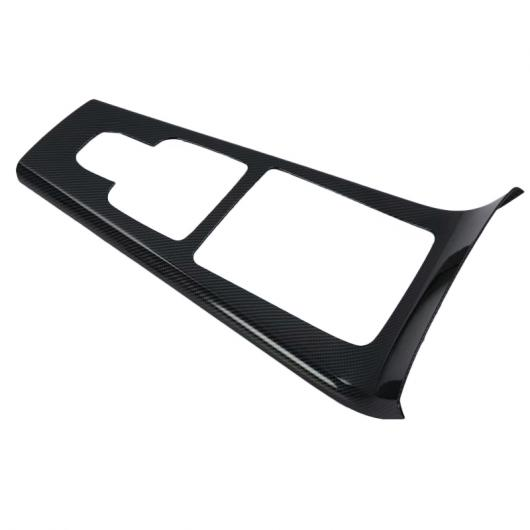 AL ガーニッシュ カバー トリム スティック シフト ギア ボックス カップホルダー フレーム 適用: メルセデス ベンツ A クラス W177 A180 A200 A250 2019 2020 カーボンファイバー調 AL-FF-1815