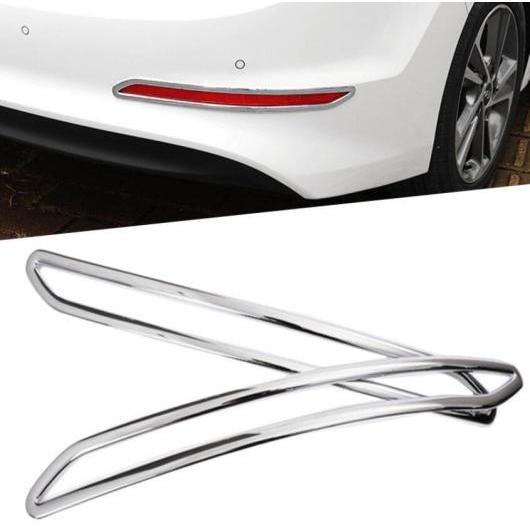 AL フロント フォグライト カバー リア トリム ABS クローム エクステリア 装飾 適用: ヒュンダイ エラントラ 2017 2018 タイプ002 AL-FF-1931