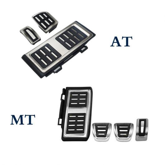 AL レスト ペダル フット フューエル ブレーキ クラッチ カバー AT/MT 適用: VW ゴルフ 7 GTI MK7 パサート ティグアン 2017+LHD AT 3ピース・MT 4ピース AL-FF-1967