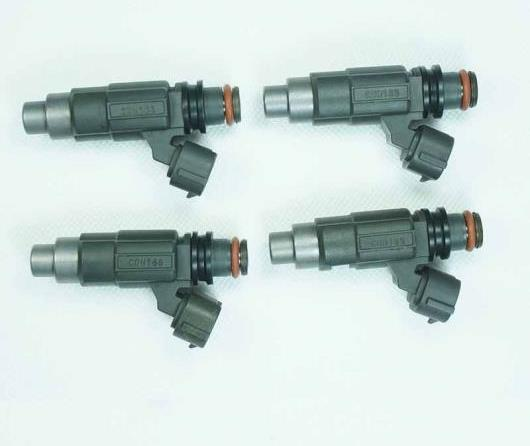 AL 4ピース セット フューエル インジェクター CDH166 適用: シボレー トラッカー 三菱 ミラージュ スズキ ビターラ 1999-2002 1.5L 1.6L AL-FF-2707