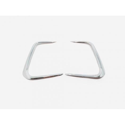 AL ABS クローム フロント フォグランプ アイブロー 装飾 カバー トリム 2ピース 適用: トヨタ カローラ セダン 2019 2020 アクセサリー モデル 2 AL-FF-3530