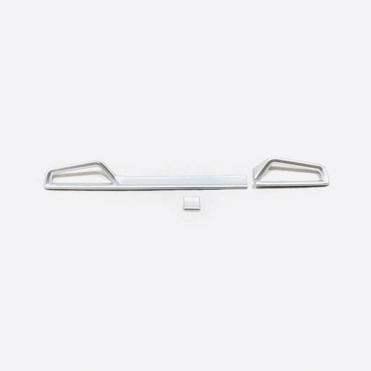 AL ABS クローム コンソール エアコン 吹き出し口 装飾 ストリップ カバー トリム 適用: トヨタ カローラ E210 セダン 2019 2020 アクセサリー シルバー AL-FF-3536