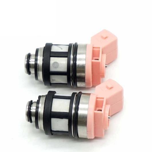 AL 2ピースセット フューエル インジェクター ノズル 適用: 日産 D21 パスファインダー クエスト 3.0L V6 2.4L 16600-88G10 JS20-1 1660088G10 JS201 AL-FF-3064