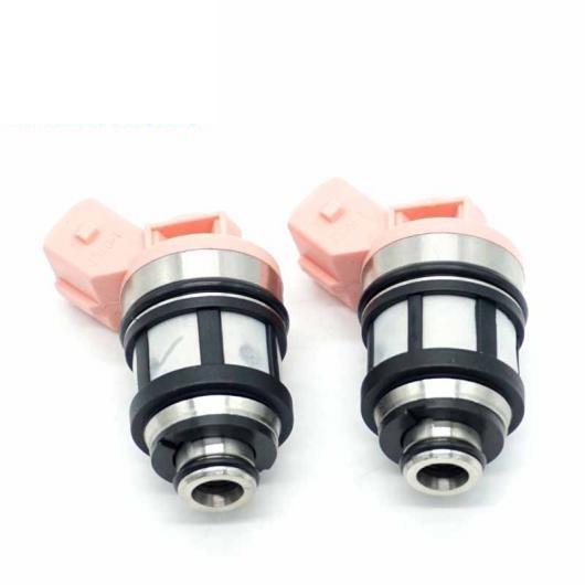 AL フューエル インジェクター ノズル 2ピースセット 適用: 日産 D21 パスファインダー クエスト 3.0L V6 2.4 5618 16600-88G10 JS20-1 1660088G10 JS201 AL-FF-3143