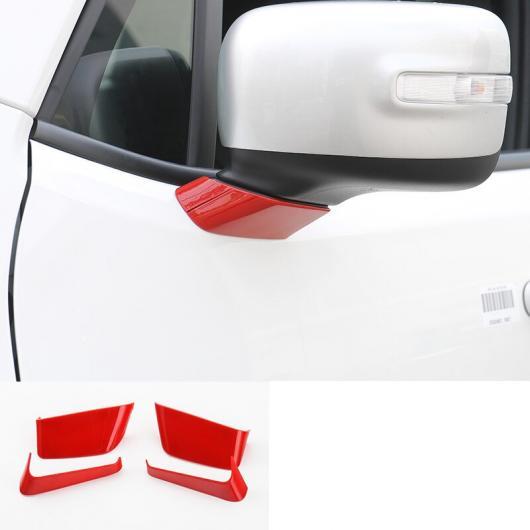 AL ABS リアビュー フレーム カバー 保護 トリム 適用: ジープ レネゲード 2014 2015 2016 2017 2018 2019 2020レッド AL-FF-3675