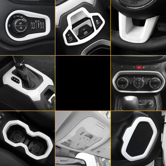 AL ABS ギア カップ アジャスター ヘッドライト ダッシュボード 吹き出し口 トリム 適用: ジープ レネゲード 2016フレーム~ダッシュボード トリム AL-FF-3700