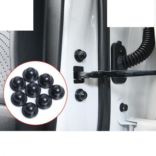 AL ABS ドア ロック リミッター カバー 適用: 起亜 K2 K3 K5 KX5 スポーテージ フォルテ リオ インテリア モールディング 8ピース ブラック AL-FF-3709