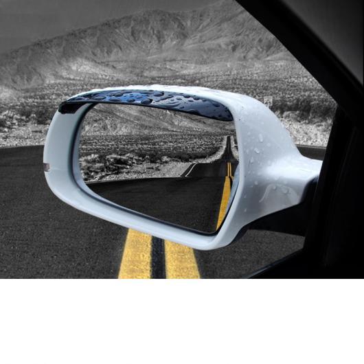 AL ABS バックミラー レイン シェード トリム 適用: アウディ A4 A6 Q3 Q5 Q7 A3 A5 A7 A8 A1 2017-2019 A4~2006-2016 Q7 1 ペア AL-FF-3903