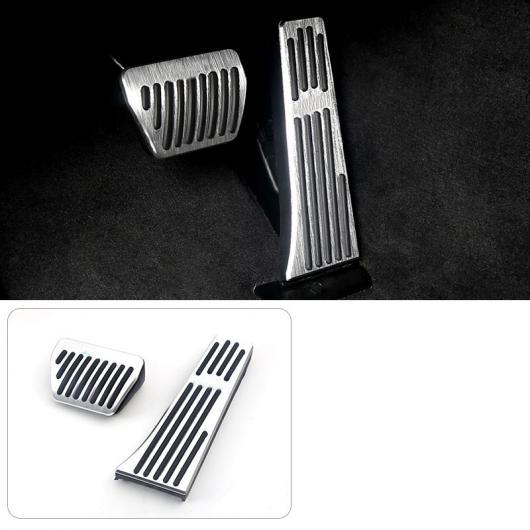 AL アルミニウム 合金 アクセル ブレーキ ペダル 適用: BMW 3シリーズ G20 320 325 330 335 2020 シルバー 2 ピース AL-FF-4474