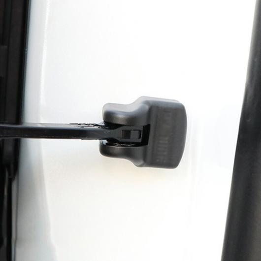 AL ステンレス スチール ドア エッジ ロック バックル カバー 適用: レクサス RX300 ES200 NX200 NX300H NX リミット カバー ブラック 4 ピース AL-FF-4718