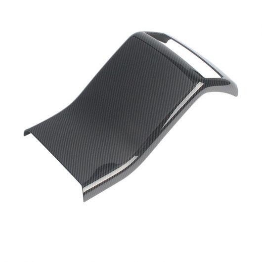 AL 適用: レクサス NX NX200 NX300 NX300H NX200T リア アームレスト アンチキック パネル ABS インテリア カーボンファイバー ブラック AL-FF-4900
