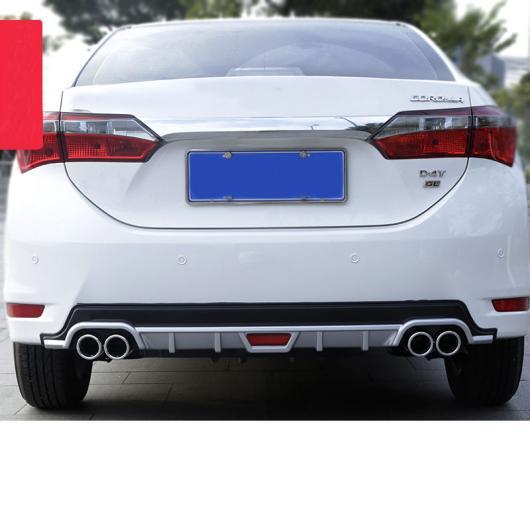 AL 適用: トヨタ カローラ E210 リア バンパー トリム 衝突防止 プロテクター インテリア アクセサリー 2014 2015 2016 2017 タイプ 2・タイプ 3 AL-FF-5006