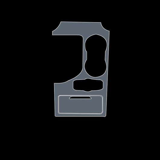 AL TPU インテリア セントラル コントロール ギア 傷つき防止 保護 フィルム 適用: 長安汽車 CS95 2017 2018 2019 2020 ギア フィルム AL-FF-5140
